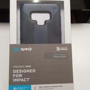 Case speck for samsung note 9 blue-black new